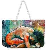 Peaceful Flow - Reclining Nude Weekender Tote Bag