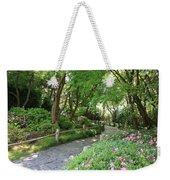 Peaceful Garden Path Weekender Tote Bag