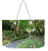 Peaceful Garden Path Weekender Tote Bag