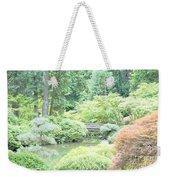 Peaceful Garden Space Weekender Tote Bag