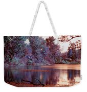 Peaceful In Infrared No2 Weekender Tote Bag