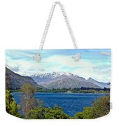 Peaceful Lake -- New Zealand Weekender Tote Bag