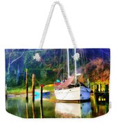 Peaceful Morning In The Cove Weekender Tote Bag