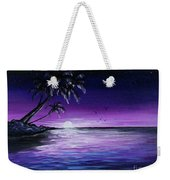 Peaceful Night Weekender Tote Bag