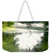 Peaceful Pond Weekender Tote Bag