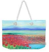 Peaceful Poppies Weekender Tote Bag