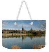 Peaceful Reflection Weekender Tote Bag