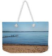 Grand Traverse Bay Beach-michigan  Weekender Tote Bag