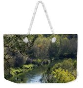 Peaceful River Weekender Tote Bag