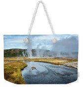 Peaceful River Weekender Tote Bag