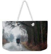 Peaceful Road Weekender Tote Bag