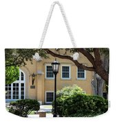 Peaceful Seating Area In New Mexico Weekender Tote Bag