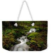 Peaceful Stream Weekender Tote Bag by Mike Reid