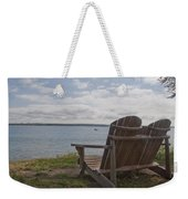 Peaceful Sunday Morning Weekender Tote Bag