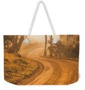 Peaceful Tasmania Country Road Weekender Tote Bag