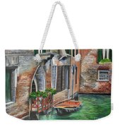 Peaceful Venice Canal Weekender Tote Bag