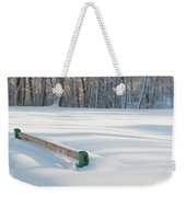 Peaceful Winter Snow Weekender Tote Bag