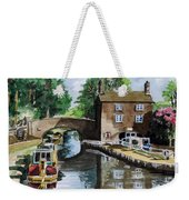Peacfull House On The Lake Weekender Tote Bag