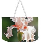 Peach Bearded Iris 2 Weekender Tote Bag