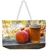 Peach Jelly Weekender Tote Bag