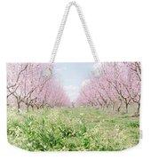 Peach Orchard 4 Weekender Tote Bag