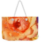 Peach Rose - Digital Painting Weekender Tote Bag