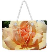 Peach Rose Art Prints Roses Flowers Giclee Prints Baslee Troutman Weekender Tote Bag