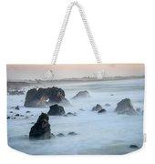 Peach Sky At Arched Rock Weekender Tote Bag
