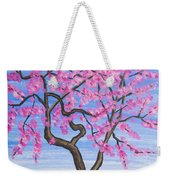 Peach Tree, Painting Weekender Tote Bag