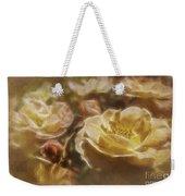 Peach Yellow Roses Weekender Tote Bag