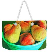 Peaches And Pears Weekender Tote Bag