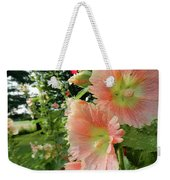 Peaches And Petals Weekender Tote Bag