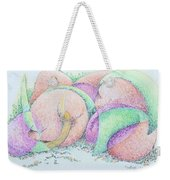 Peaches And Plums Weekender Tote Bag