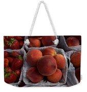 Peaches And Strawberries Weekender Tote Bag
