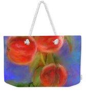 Peachy Keen Weekender Tote Bag by Colleen Taylor