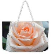 Peachy Rose Weekender Tote Bag