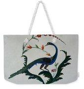 Peackok Weekender Tote Bag