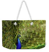 Peacock At Frankenmuth Michigan Weekender Tote Bag