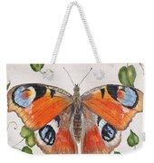 Peacock Butterfly-jp3878 Weekender Tote Bag