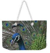 Peacock Enhanced Weekender Tote Bag