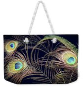 Peacock Feathers -1 Weekender Tote Bag
