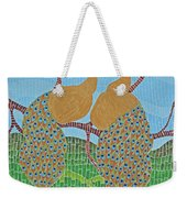 Peacock Love Weekender Tote Bag