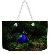Peacock Peafowl Weekender Tote Bag