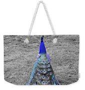 Peacock Plumage Weekender Tote Bag