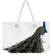 Peacock Profile Weekender Tote Bag