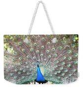 Peacock Show Weekender Tote Bag