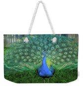 Peacock1 Weekender Tote Bag
