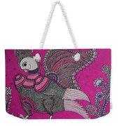 Peacock_pink Weekender Tote Bag