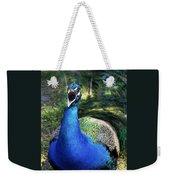 Peacocks Squawk Weekender Tote Bag