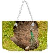 A Peahen's Plumage Weekender Tote Bag